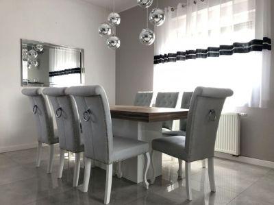 Stoły I Krzesła Białe Do Salonu Stoły Na Wymiar Z Krzesłami