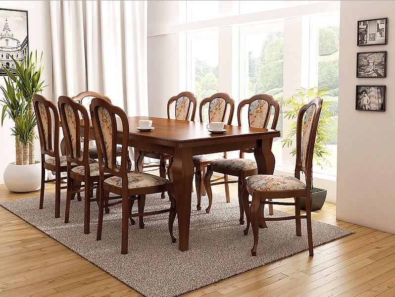 Zestawy Stylowe Stoły I Krzesła Dębowe Meble Jeziorny